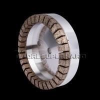 Wholesale Metal Diamond Cup Grinding Wheel for Architectural And Furniture Glass Grinding - zoe@moresuperhard.com from china suppliers