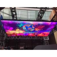 Buy cheap Audio Visual Indoor LED Video Walls DJ Booth 3.9mm LED Screem 1/16 Scan Driving from wholesalers