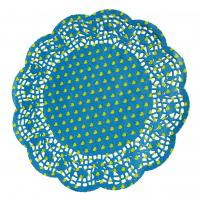 Buy cheap Greaseproof paper, glassine paper Blue Cake Cup Decorative Cupcake Wrappers, ISO14001:2004 from wholesalers