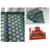 Green Brandt King Cobra Shale Shaker Screen Mesh Steel Frame API 20 - 325