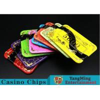 Buy cheap 3.3mm Thickness Acrylic Casino Poker Chips With 11 Kind Of Colors to Choose from wholesalers