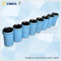 Bomco F1000 Triplex Mud Pump Liner, API-7K Certified Factory, Chromium content 26-28%, HRC hardness greater than 60