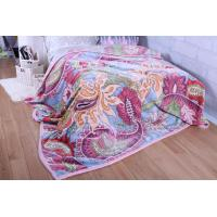 Buy cheap Floral Durable Long Adult Soft Polyester Blanket Warmth for Winter from wholesalers