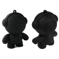 Wholesale Black Bear Wireless Cell Phone Speakers Powered With TF Card from china suppliers