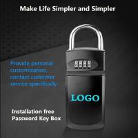 Buy cheap Gym / Factory Use Combination Key Box , High Grade Metal Code Secure Key Box from wholesalers