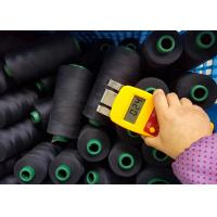 Buy cheap 100%  Spun Polyster Industrial Sewing Thread  Black and White 402 5000y 10000y from wholesalers