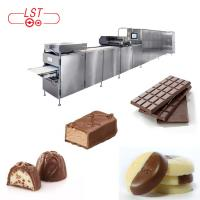 Buy cheap PLC Controlled Chocolate Production Line For Chocolate Bar With Servo System from wholesalers