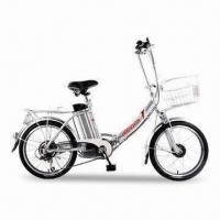 Buy cheap Electric Bike with Alloy Frame, ≤25km/h Maximum Speed, and ≥80kg Maximum Capacity from wholesalers