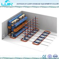 Buy cheap Warehouse Cantilever Pallet Racking, Selective Size Cantilever Steel Rack from wholesalers