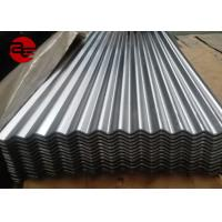 Buy cheap Soft / Full Hard Colour Coated Roofing Sheets With Zinc Coating 16 Gauge from wholesalers