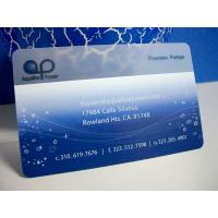 Buy cheap High quality PVC transparent business card/ clear business cards/ Clear matt frosted trans from wholesalers