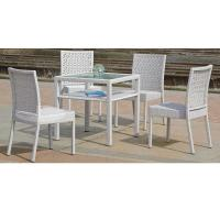 China 2014 plastic garden furniture white color on sale