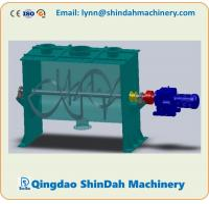 China animal feed ribbon mixer, putty ribbon mixer, natural stone coating ribbon mixer, dry mortar ribbon mixer on sale
