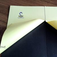 Buy cheap 1mm Double Side Self-Adhesive PVC Sheet for Photo Album white  and black color from wholesalers