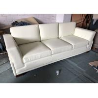 Wholesale 3 Seater Hotel Furniture Sleeper Sofa Handcrafted Microfiber Leather from china suppliers