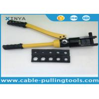 Buy cheap Portable Hydraulic Cable Lug Crimping Tool from wholesalers