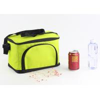 Buy cheap Custom 600D Large Insulated Cooler Bags Zippered Closure Food Storage Foldable from wholesalers