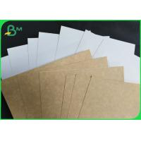 Buy cheap Stain Resistance FDA 300 GSM Coated Kraft Board For Medicine Packaging Box from wholesalers