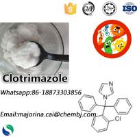 Buy cheap Clotrimazole for Antifungal Pharmaceutical Grade Raw Material for Anti Inflammatory White Powder CAS:23593-75-1 from wholesalers