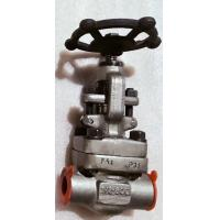 Buy cheap Forged SW Globe Control Valve -101℃ To 650℃ Wide Working Temperature Range from wholesalers