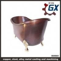 Buy cheap Antique Baby Brass Copper Bathtub from wholesalers