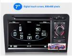 Buy cheap 7'' Car dvd GPS Headunit Multimedia Satnav for Audi A3 S3 Car Radio TV Car Multimedia Navi from wholesalers