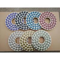Buy cheap 230mm Wool Felt Diamond Polishing Wheels For Concrete Floors , Carton Package from wholesalers