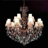 Buy cheap Crystal Chandelier with Lights, Measures 1,350 x 1,300mm product