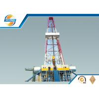 Electrical Onshore Steel Oil Drilling Rig , Oilfield Drilling Equipment 4000 - 7000 m Manufactures