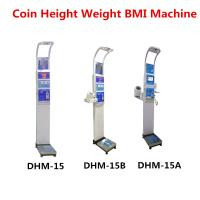 Wholesale Coin Operated Body Weight Height Scale , Professional Medical Grade Weight Scale from china suppliers