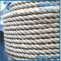 Buy cheap natural fiber color sisal manila rope on oil field from wholesalers