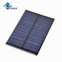 Buy cheap 6V 0.6W Strongly solar panel photovoltaic ZW-8055 transparent Epoxy Resin Solar Panel 90mA from wholesalers