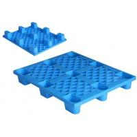 Buy cheap Warehouse Storage Heavy Duty Recycled Plastic Pallets Blue Color 1200x1000x150 mm from wholesalers
