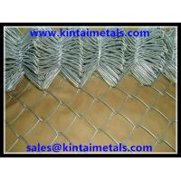 Buy cheap 50mm galvanized chain link fence for fencing in 25m length from wholesalers