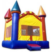Buy cheap homemade backyard huge Inflatable bouncer with slide for game from wholesalers