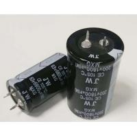 China Compact Polarised Electrolytic Capacitor , 10mm Terminal Pitch Solid Aluminium Capacitor on sale