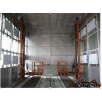 Buy cheap 3×11KW Double-intake Centrifugal Fans Industrial Spray Booths For Exhaust Air from wholesalers
