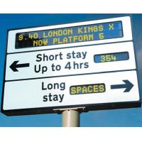 China High Resolution Moving Road / Signage Led Traffic Signs for Outdoor Advertising on sale