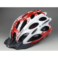 Leather Womens Bike Helmets Red / Mountain Bicycle Helmets Light Weight