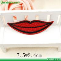 Buy cheap Hot sale custom embroidery patches, sew on embroidery patches,embroidery patches for cloth from wholesalers