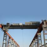 Buy cheap 36 Ton Double Girder Bridge Crane Soft Starting Motors Light Current from wholesalers