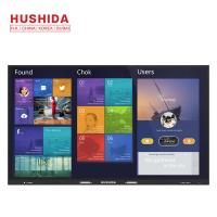 Buy cheap Anti Glare Glass IR Touch Screen , 1920*1080P LCD Digital Conference Displayer 86 4K from wholesalers
