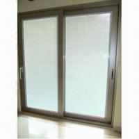 Buy cheap Aluminum Sliding Door with Electronic Shutter Panel from wholesalers
