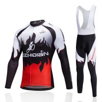 Buy cheap Made in China Custom long sleeve Cycling uniform with full sublimation from wholesalers