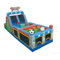 Buy cheap All Star Mega Inflatable Obstacle from wholesalers
