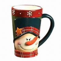 Wholesale Ceramic Mug, Customized sizes are Accepted from china suppliers