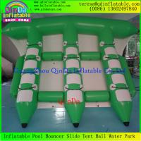 Buy cheap Exciting Water Game Inflatable Flyfish Banana Boat Inflatable Flying Fish Towable For Sea product