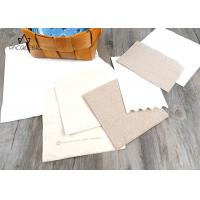 Wholesale Paper Disposable Tableware Brown / White Napkins Customized Printing from china suppliers