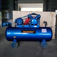 Buy cheap 5.5HP Piston Type Air Compressor Machine with tank from wholesalers