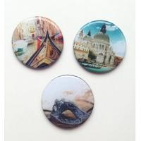 Buy cheap Custom Various Pictures 3D Epoxy Glass Fridge magnet from wholesalers